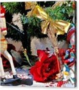 Christmas Characters Acrylic Print