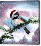 Christmas Chic Acrylic Print