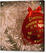 Christmas Decor Acrylic Print