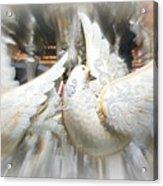 Christmas Doves Acrylic Print