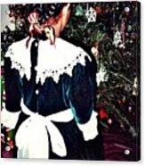 Christmas Dress Acrylic Print