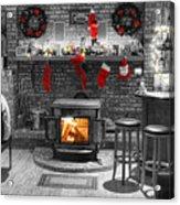 Christmas Eve Magic Acrylic Print