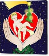 Christmas Eve- Nativity Acrylic Print