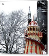 Christmas Helter Skelter Scotland Acrylic Print