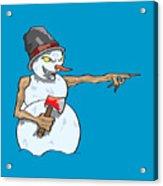 Christmas Horror Nightmares Acrylic Print