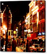 Christmas In Amsterdam Acrylic Print