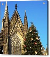 Christmas In Cologne Acrylic Print