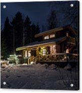 Christmas In Finland Acrylic Print
