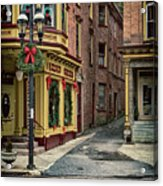 Christmas In Jim Thorpe Acrylic Print