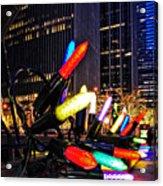 Christmas In Manhattan Acrylic Print