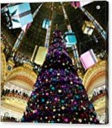 Christmas In Paris 2010 - #1 Acrylic Print
