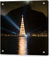 Christmas In Rio Acrylic Print