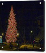 Christmas In Vail Acrylic Print