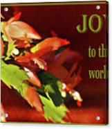 Christmas Joy Acrylic Print