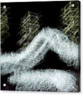 Christmas Lights Abstract Acrylic Print