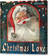 Christmas Love Acrylic Print by Joel Payne
