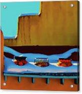 Christmas Morning Taos Acrylic Print