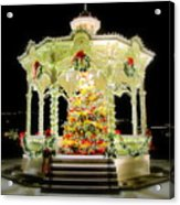 Christmas On The Square Acrylic Print