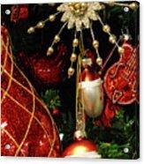 Christmas Ornaments 1 Acrylic Print