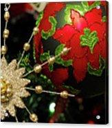 Christmas Ornaments 2 Acrylic Print