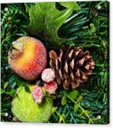 Christmas Ornaments II Acrylic Print