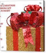 Christmas Packages Acrylic Print