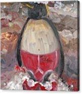 Christmas Penguin Acrylic Print