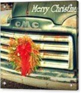 Christmas Pick Me Up II Acrylic Print
