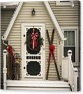 Christmas Porch Acrylic Print