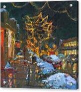 Christmas Reflections Acrylic Print