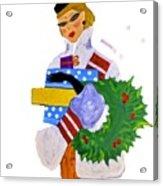 Christmas Shopping - Shop On-line Acrylic Print