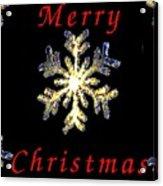 Christmas Snowflakes Acrylic Print