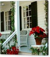 Christmas Spirit In Key West Acrylic Print