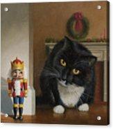 Christmas Stalking Acrylic Print