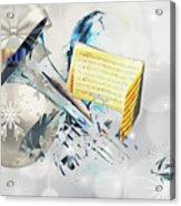 Christmas Time Music Acrylic Print