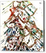 Christmas Tree Acrylic Print by Dana Patterson