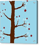 Christmas Tree Acrylic Print by Frank Tschakert