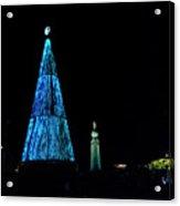 Christmas Tree San Salvador 4 Acrylic Print