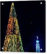 Christmas Tree San Salvador Acrylic Print