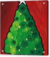 Christmas Tree Twinkle Acrylic Print