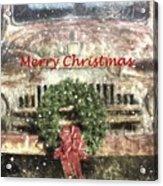 Christmas Truck Acrylic Print
