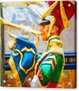 Christmas Trumpet Acrylic Print