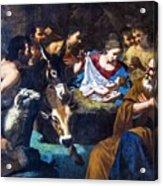 Christmas With The Shepherds Acrylic Print