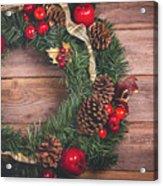 Christmas Wreath  Acrylic Print