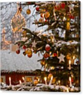 Christmastime At Tivoli Gardens Acrylic Print