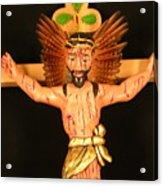 Christo Crucificado Acrylic Print