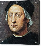 Christopher Columbus Acrylic Print