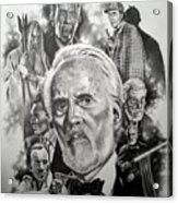 Christopher Lee Acrylic Print
