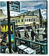 Christopher Street Greenwich Village  Acrylic Print