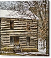 Christopher Taylor House Acrylic Print